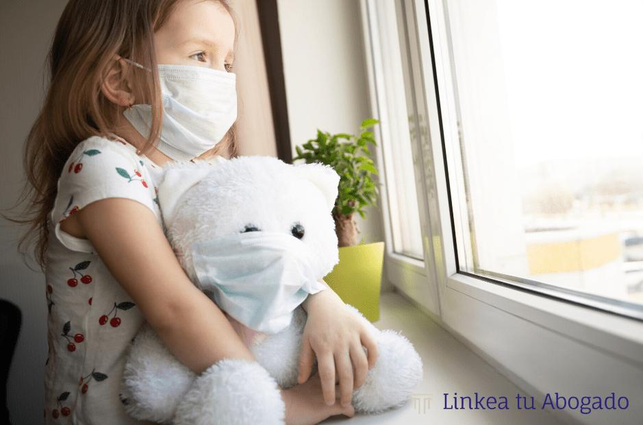 Régimen de visitas y custodia de los hijos durante la pandemia de coronavirus